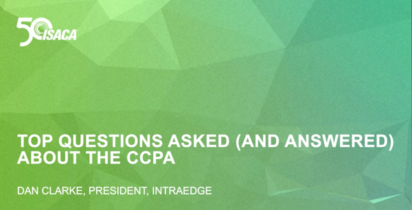Top Questions Asked and Answered Webinar ISACA