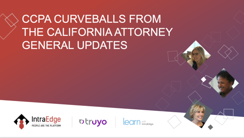 CCPA Curveballs from the California Attorney General Updates